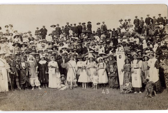 Fancy Dress Parade, Ham Hill.LB
